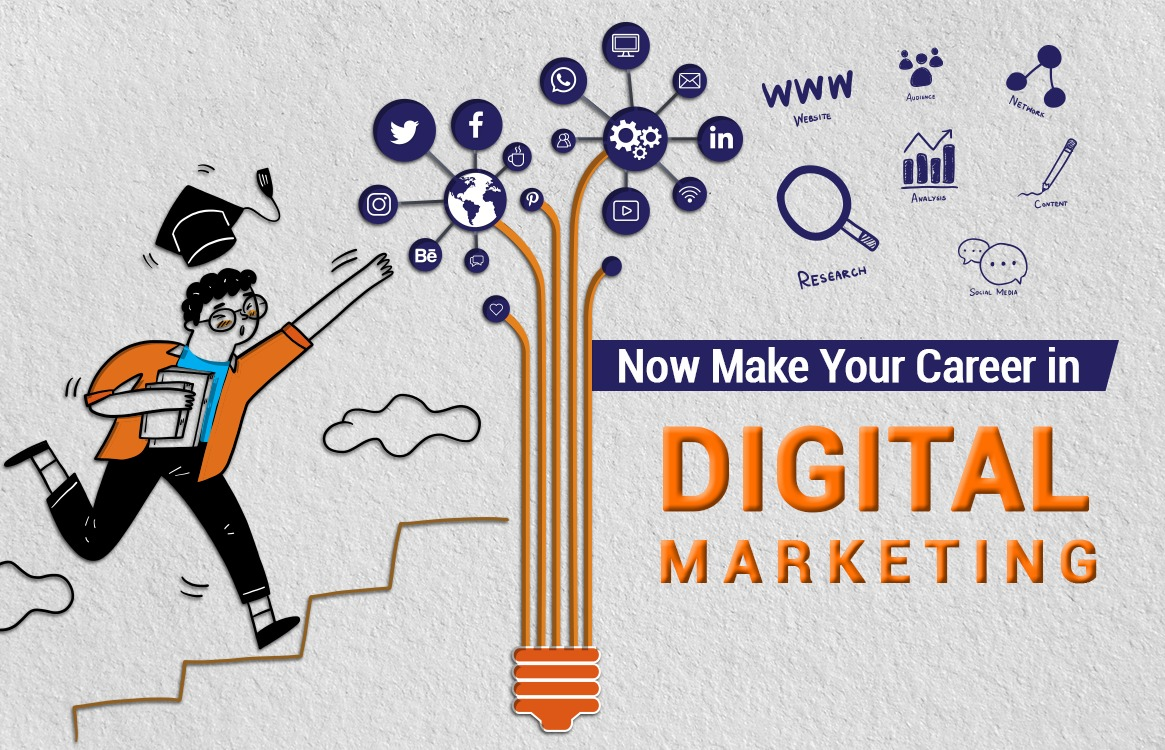 You are currently viewing Now Make your Career in Digital Marketing