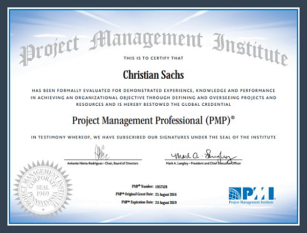 PMP® Certified Project Management Professional